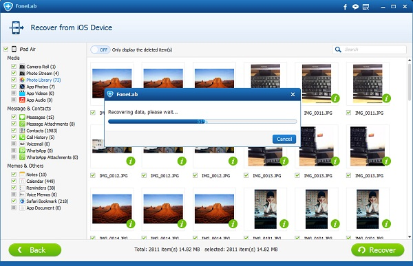 how to download pictures from your ipad to your computer